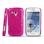 Samsung Galaxy S Duos S7562 Glitter Plactic Hard Case