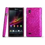 LG Optimus L9 P765 Glitter Plactic Hard Case