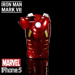 iPhone 5 MARVEL Iron Man Mark VII Protective Case with LED Light Reflector (Limited Edition)