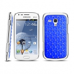 Samsung Galaxy S Duos S7562 Shiny Rhombus Back Case