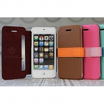 Verus Saffiano Two Way Case for iPhone 5 / 5s