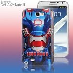 Samsung Galaxy Note II GT-N7100 MARVEL Iron Man 3 - Iron Patriot Protective Case