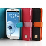 Verus Diary Diamond Leather Case for Samsung Galaxy S III
