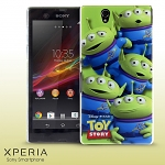 Sony Xperia Z Toy Story - A Crowd of Alien Protective Case