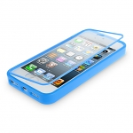 iPhone 5 / 5s / SE Plastic Case w/ Semi-transparent Face Cover