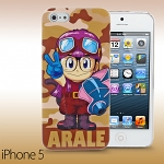 iPhone 5 / 5s Dr. Slump - ARALE Protective Back Case (Limited Edition)