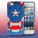 iPhone 5 / 5s Iron Man - Iron Patriot Phone Case with Bonus Bumper (Limited Edition)