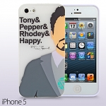 iPhone 5 / 5s Iron Man - Tony Stark Phone Case with Bonus Bumper (Limited Edition)
