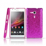 Sony Xperia SP Glitter Plactic Hard Case