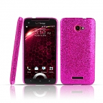 HTC Droid DNA Glitter Plactic Hard Case