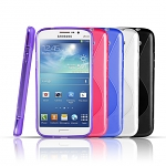 Samsung GALAXY Mega 5.8 DUOS Wave Plastic Back Case