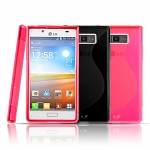 LG Optimus L7 P700 / P705 Wave Plastic Back Case