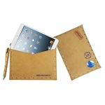 Leather Postcard Pouch For iPad Mini