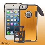 iPhone 5 / 5s / SE Multi-Tool + Knife Metal Back Case