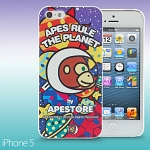 iPhone 5 / 5s APESTORE - Moon & Stars Apes Back Case