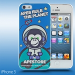 iPhone 5 / 5s APESTORE - Spaceman Apes Back Case