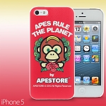 iPhone 5 / 5s APESTORE - Rose Apes Back Case