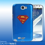 Samsung Galaxy Note II GT-N7100 DC Comics Heroes - Superman Back Case (Limited Edition)