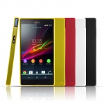 Matted Color Sony Xperia Z Soft Back Case