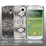Samsung Galaxy S4 Mini Faux Snake Skin Back Case