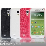 Samsung Galaxy S4 Mini Crocodile Leather Back Case