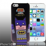 iPhone 5 / 5s Justice League X Korejanai DC Comics Heroes - Batman Back Case (Limited Edition)