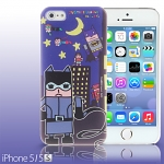iPhone 5 / 5s Justice League X Korejanai DC Comics Heroes - Catwoman and Heroes Back Case (Limited Edition)