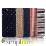 Simplism Fabric Cover Set for iPhone 5 / 5s (2nd version)