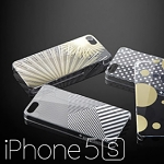 Simplism Floating Pattern Cover Set for iPhone 5 / 5s