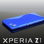 Sony Xperia Z1 Wave Plastic Back Case
