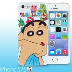iPhone 5 / 5s Crayon Shin-chan Bathing Back Case (Limited Edition)