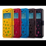 Momax iPhone 5 / 5s Dot Map Stand View Case