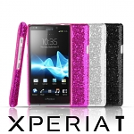 Sony Xperia T Glitter Plactic Hard Case
