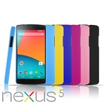 Google Nexus 5 Rubberized Back Hard Case