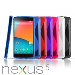 Google Nexus 5 Wave Plastic Back Case