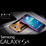 Samsung Galaxy S4 more. para Metallic Shiny Back Case