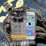 iPhone 5 / 5S The New 52 DC Comics Characters 3D Protective Case - Batman