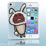 iPhone 5 / 5s Nameko Glowing Mushroom - Bunny Nameko Back Case (Limited Edition)