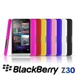 BlackBerry Z30 Rubberized Back Hard Case