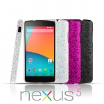 Google Nexus 5 Glitter Plactic Hard Case