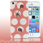 iPhone 5 / 5s Nameko Glowing Mushroom - Polka dot Nameko Back Case (Limited Edition)