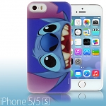 iPhone 5 / 5s Disney - Stitch Close up Face Back Case (Limited Edition)
