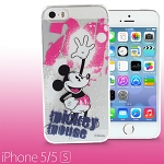 iPhone 5 / 5s Disney - Mickey Mouse Splash-ink Transparent Case (Limited Edition)