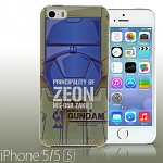 iPhone 5 / 5s MS-05B ZAKU I Back Case (Limited Edition)