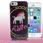 iPhone 5 / 5s Despicable Me - Fluffy Unicorn Back Case (Limited Edition)