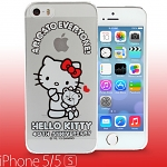 iPhone 5 / 5s Hello Kitty 40th Anniversary - Cuddle Bear Transparent Case (Limited Edition)