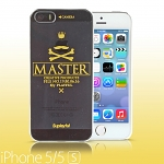 iPhone 5 / 5s Playful - Mustache Master Transparent Case