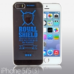iPhone 5 / 5s Playful - Royal Shield Transparent Case