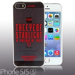 iPhone 5 / 5s Playful - The Eye of Starlight Transparent Case