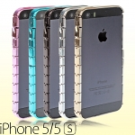iPhone 5 / 5s Metallic-Like Chain Bumper